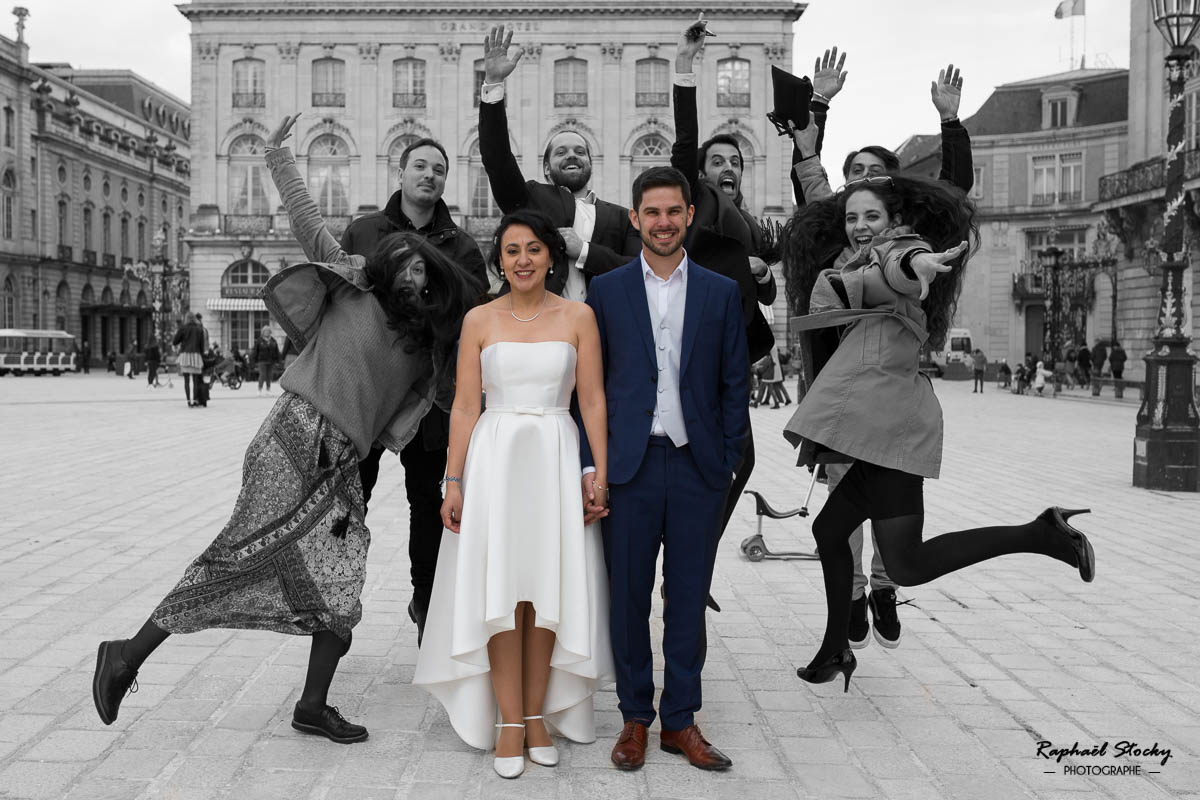 Photographie Mariage Mairie Nancy
