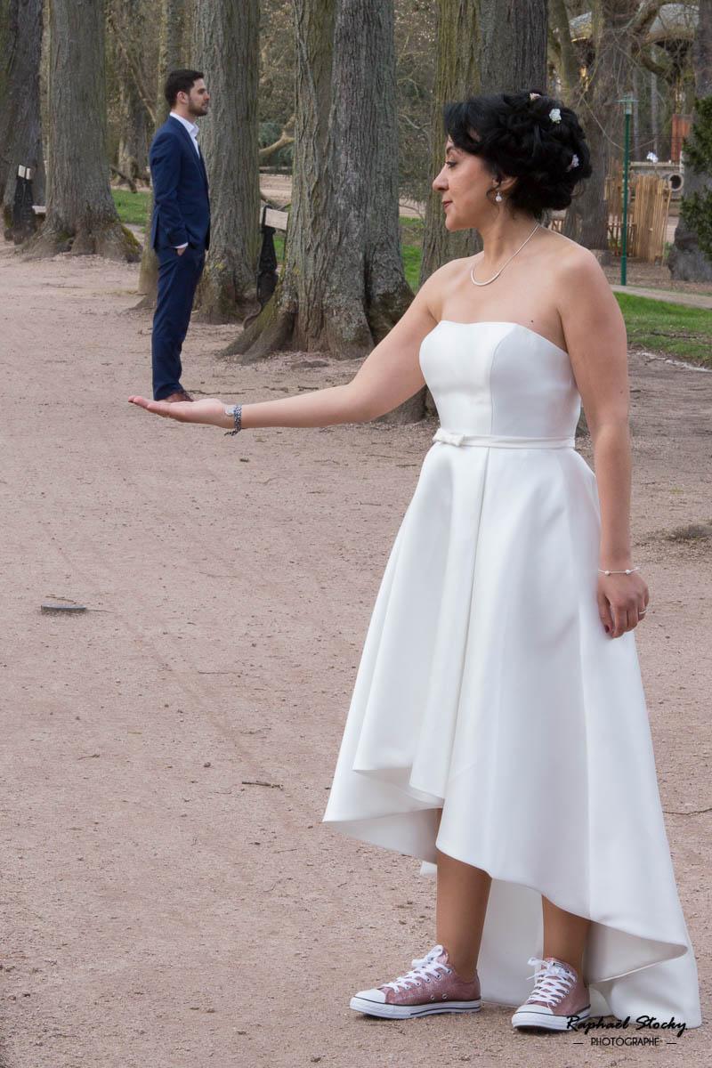 Photographie Mariage pépinière Nancy
